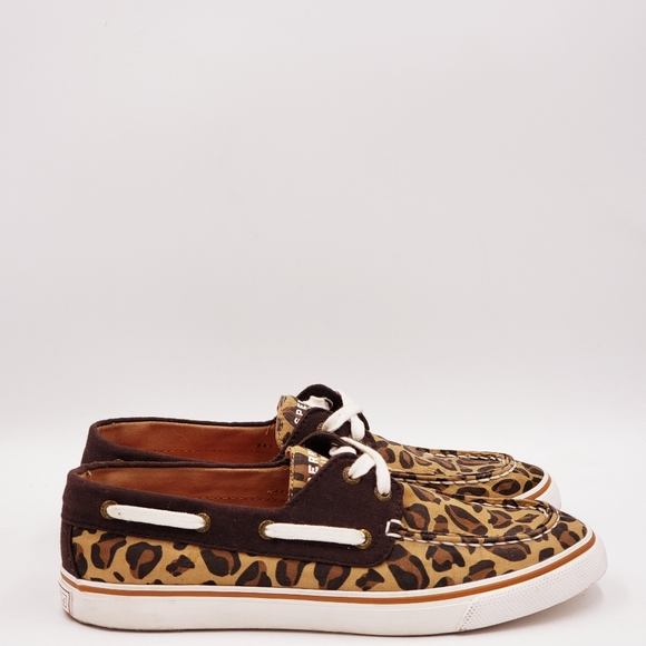 Sperry leopard print sneakers A180